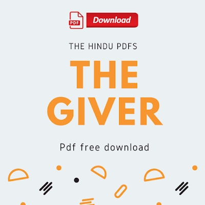 The Giver Pdf Free Download
