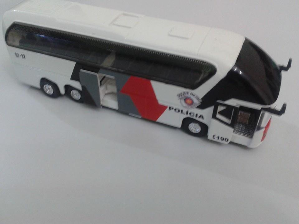 Ônibus da polícia Militar - Miniaturas Nunes