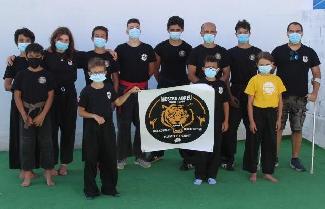 Dojo de Quiaios recebeu Treino de Pré-Seleção da Equipa Nacional de Combate Mestre Abreu Fight Team