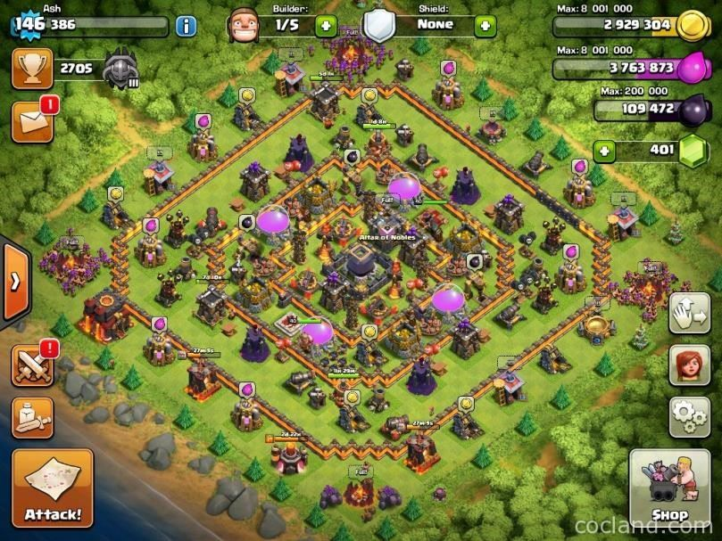 clash of clans best defense town hall 11