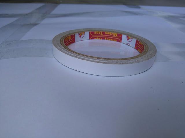 Băng dính hai mặt 1cm dài 20m