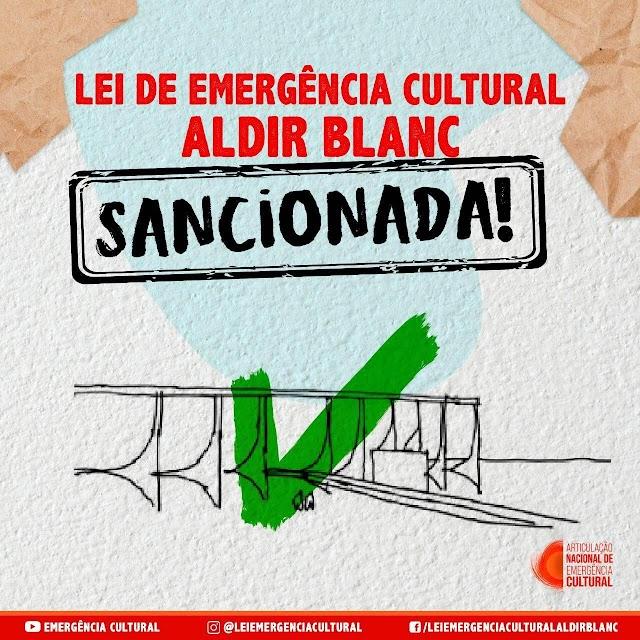 Lei Aldir Blanc é sancionada e cultura chavalense deve receber R$110 mil