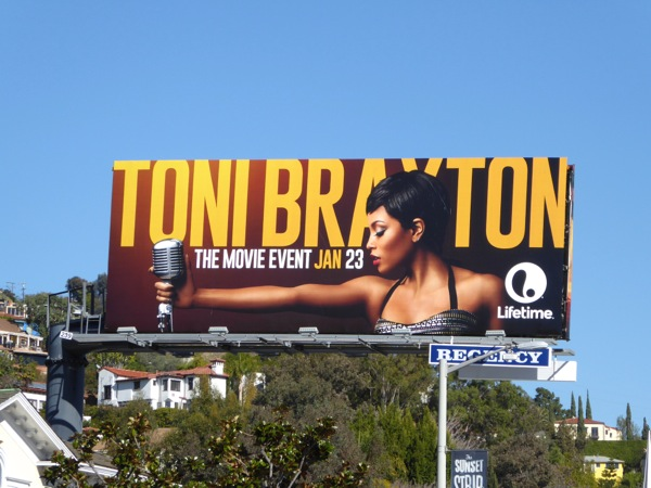 Toni Braxton TV movie billboard