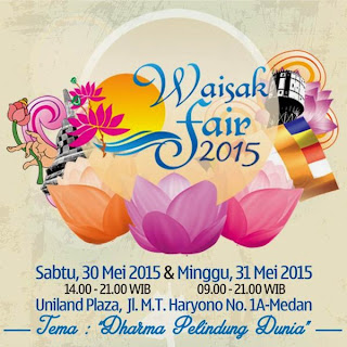 Waisak Fair 2015 : Dharma Pelindung Dunia