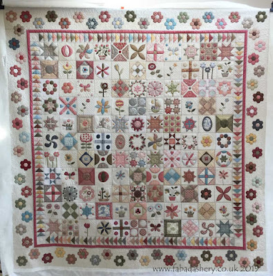 Jenny's Stonefields Quilt, quilted by Frances Meredith