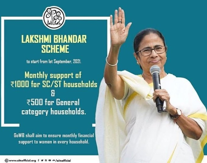 West Bengal Lakshmi Bhandar Scheme 2021: Application online new updates