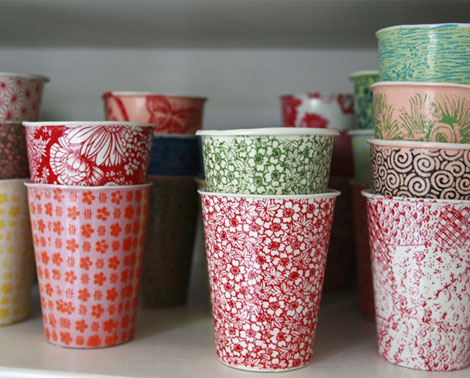 And Would You Have Guessed That These Ceramic Or Stoneware Looking Plates Cups Were Made Of Paper