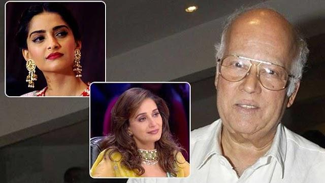 Madhuri Dixit, Sonam Kapoor & other bollywood celebs :  mourn the death of Raj Kumar Barjatya.