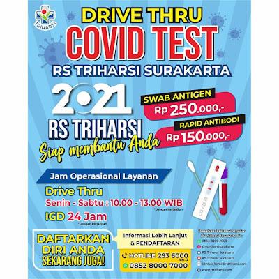 tarif rapid test antigen rs triharsi solo