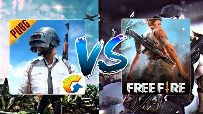 PUBG Mobile vs Free Fire: ما اللعبة الأفضل لهواتف  4 جيجا رام في 2021؟