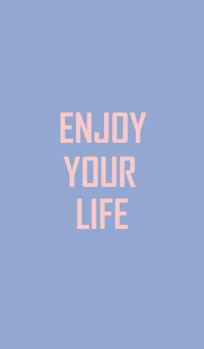 Enjoy your life serenity and rose quartz