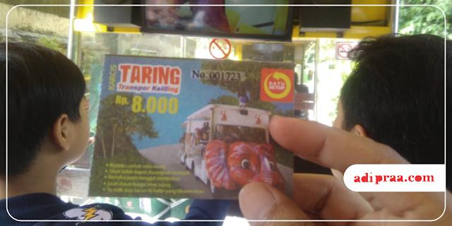 Karcis Taring (Transpor Keliling) | adipraa.com