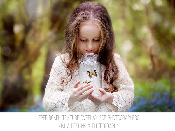 Freebie Friday - Bokeh Texture Overlay for Photographers