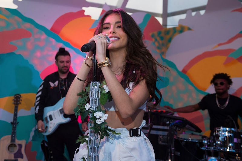 Madison Beer Performance at Surf Lodge in Montauk 31 Aug-2019