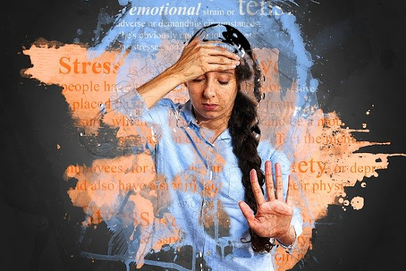 Stress can develop from a variety of reasons