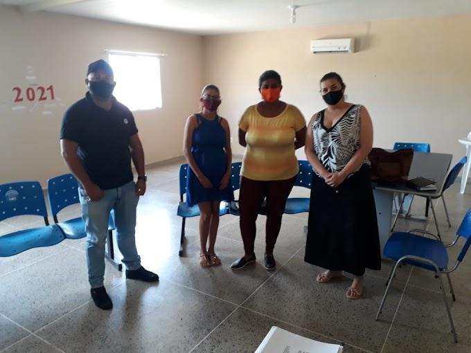 Secretária de Assistência Social recebeu representantes da Associação Familiar dos Agricultores do Poço do Boi, Malhada da Quixaba e Poço Escuro