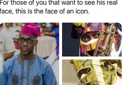 [Photo] : The Real Face Of LAGBAJA, Revealed