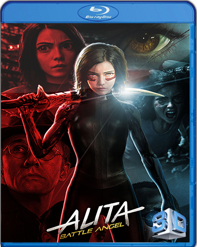 Alita, Battle Angel [2019] [BD50] [Latino] [3D]