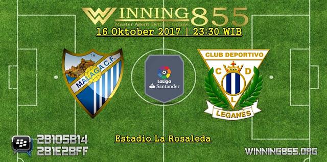 Prediksi Skor Malaga vs Leganes 16 Oktober 2017
