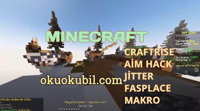 Minecraft Craftrise  Fastplace Aim, Makro Hilesi 2020