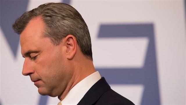 Austrian far-right populist concedes Norbert Hofer defeat in presidential vote to Alexander Van der Bellen