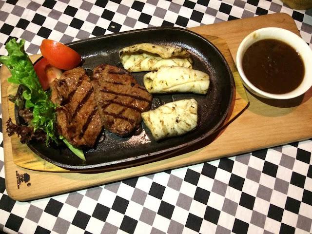 westside bistro, steak and grill, sacc, makanan sedap shah alam, shah alam, menu baru