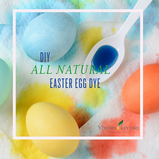 DIY All Natural Easter Egg Dye