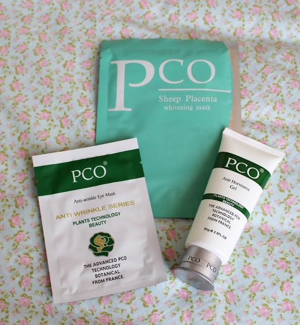 PCO Sheep Placenta Whitening Mask , Anti-wrinkle Eye Mask, AntiHorniness Gel
