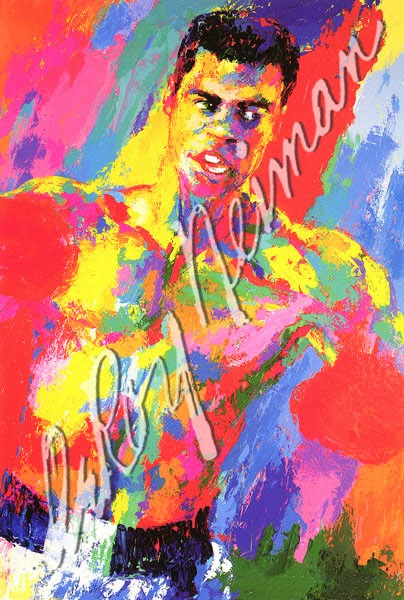 leroy neiman sport paintings muhammad ali