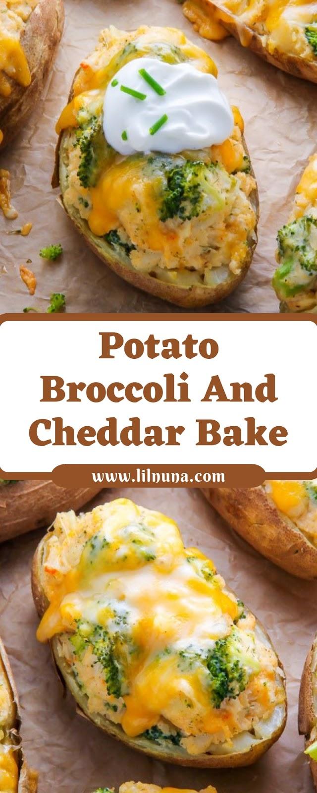 Potato Broccoli And Cheddar Bake
