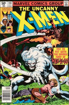 X-Men #140, the Wendigo