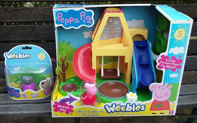 Peppa Pig Weebles Wind and Wobble Playhouse Wendy Wolf Blog Review