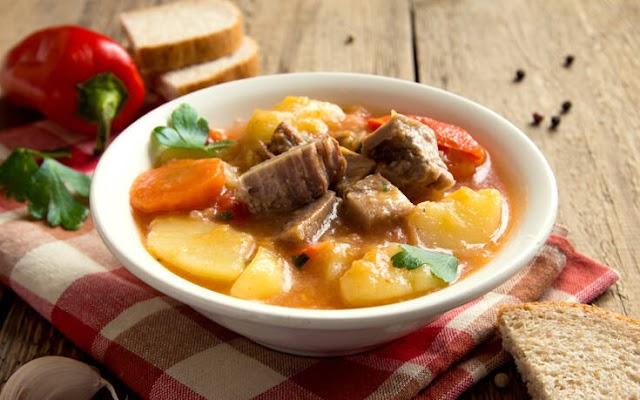 Κρεατόσουπα με λαχανικά