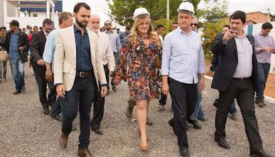 Resultado de imagem para Rui Costa Inaugurada a Adutora do Rio Pardo