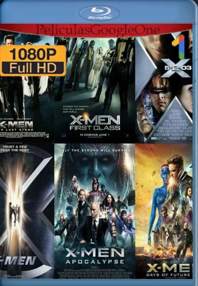 X-Men [Saga Completa] [2019] [1080p BRrip] [Latino-Inglés] [GoogleDrive]
