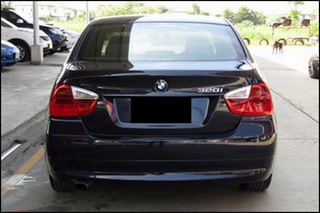 Eksterior Belakang BMW E90 Prefacelift