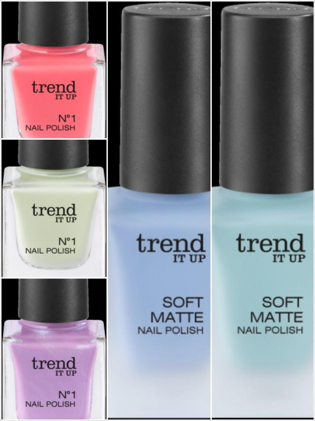 Die neuen trend IT UP, Nagellack, Farbupdate, Sortimentsupdate