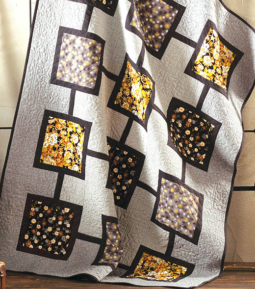 Squares Quilt Designed by Joann