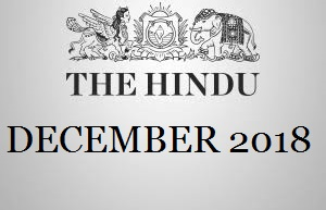 The Hindu English Newspaper December 2018 PDF Download Here