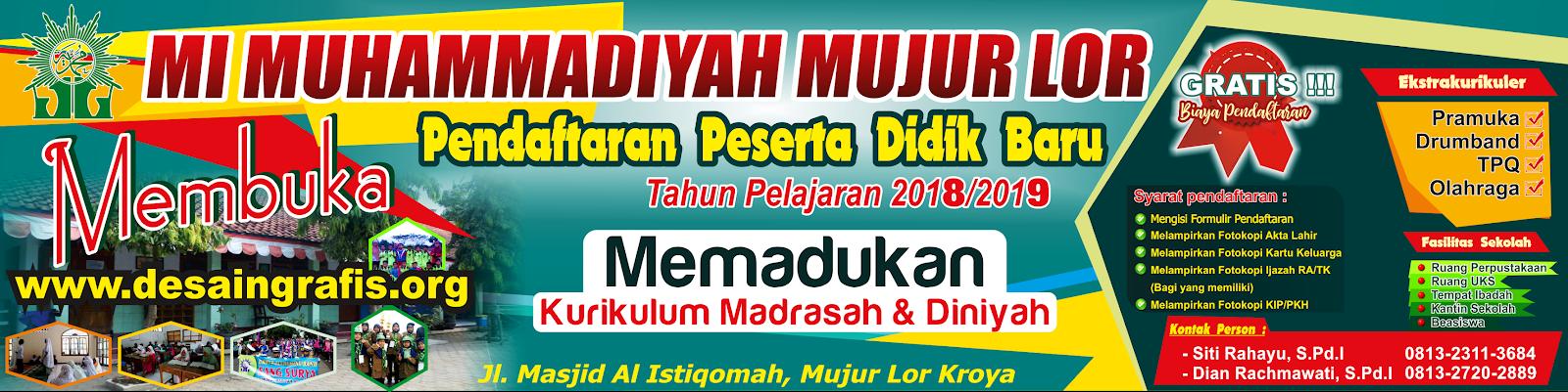 Desain Banner PPDB cdr   Kumpulan Desain Grafis CorelDraw