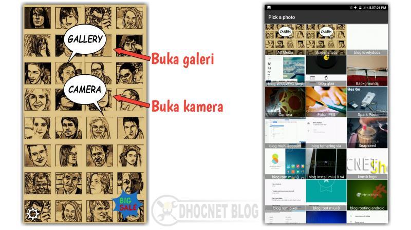 mudah membuat foto komik dengan comica - blog.dhocnet.work