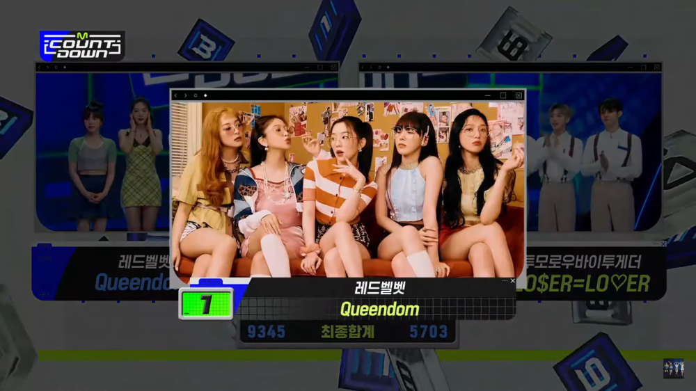 Red Velvet Takes Home The 1st Trophy For 'Queendom', Congratulations!