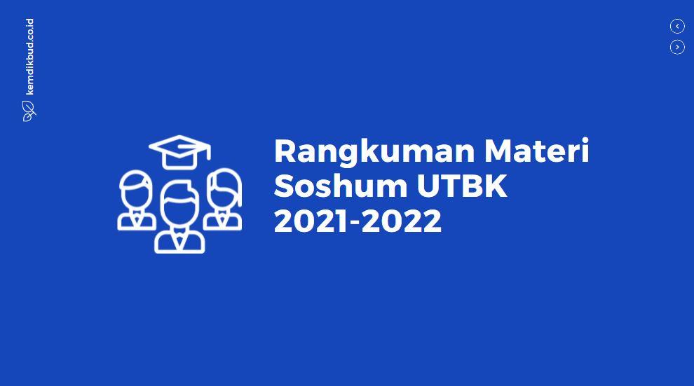Rangkuman Materi Soshum UTBK 2021