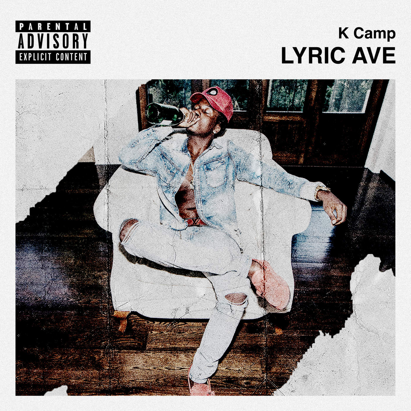K CAMP - Lyric Ave - EP Cover