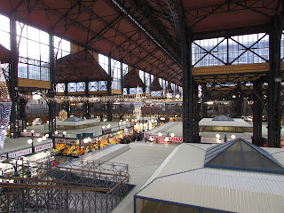 Interior Mercado Central Budapest 3