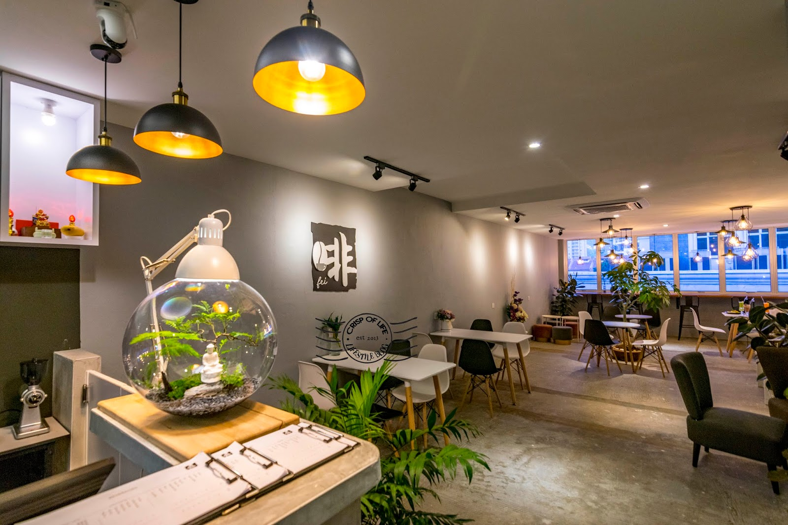 Fei Brew Cafe - The Meatless and Healthy Cafe @ Bayan Point, Penang
