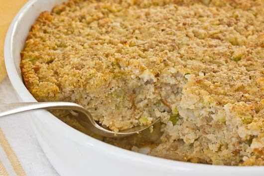Homemade Southern Cornbread Dressing Recipe