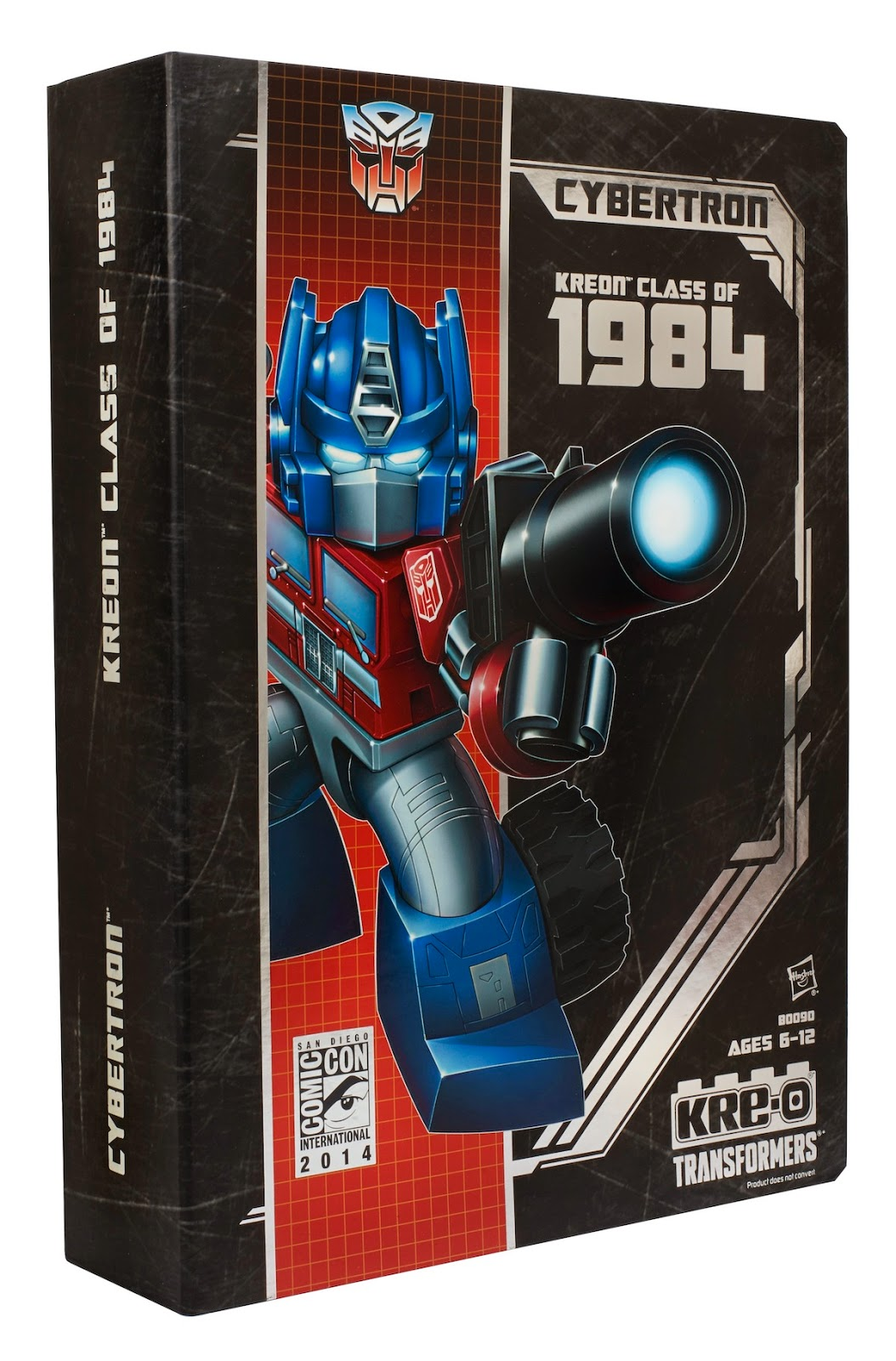 "San Diego Comic-Con 2014 Exclusive ""Kreon Class of 1984"" Transformers KRE-O Mini Figure Box Set"