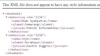Menampilkan Data XML dengan Javascript