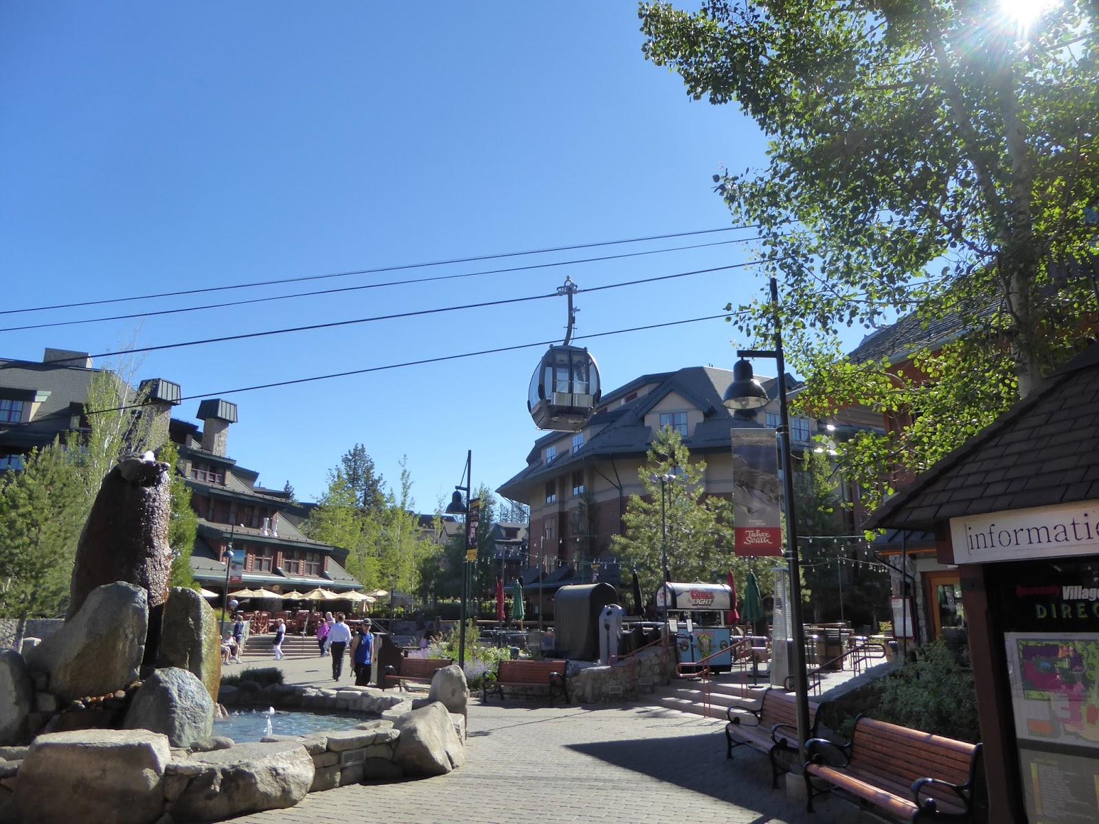 ray's retirement: heavenly valley gondola ride